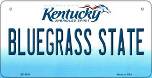 Kentucky Bluegrass State Wholesale Novelty Metal Bicycle Plate BP-6758