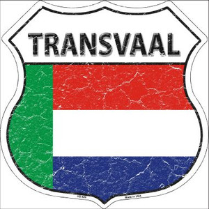 Transvaal Country Flag Highway Shield Wholesale Metal Sign