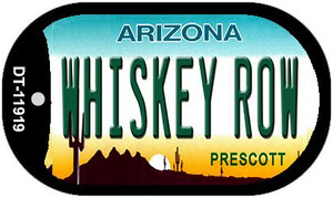 Arizona Whiskey Row Wholesale Novelty Metal Dog Tag Necklace DT-11919
