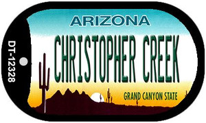 Arizona Christopher Creek Wholesale Novelty Metal Dog Tag Necklace DT-12328