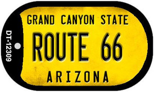 Arizona Route 66 Wholesale Novelty Metal Dog Tag Necklace DT-12309