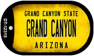 Arizona Grand Canyon Wholesale Novelty Metal Dog Tag Necklace DT-12315