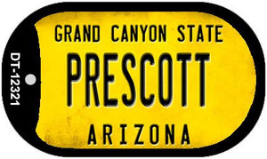 Arizona Prescott Wholesale Novelty Metal Dog Tag Necklace DT-12321