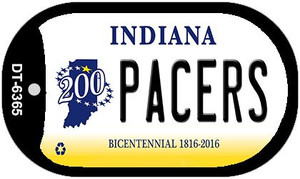 Indiana Pacers Wholesale Novelty Metal Dog Tag Necklace DT-6365