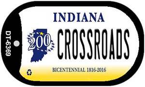 Indiana Crossroads Wholesale Novelty Metal Dog Tag Necklace DT-6369
