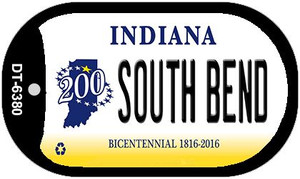 Indiana South Bend Wholesale Novelty Metal Dog Tag Necklace DT-6380