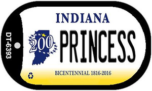 Indiana Princess Wholesale Novelty Metal Dog Tag Necklace DT-6393