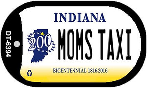 Indiana Moms Taxi Wholesale Novelty Metal Dog Tag Necklace DT-6394