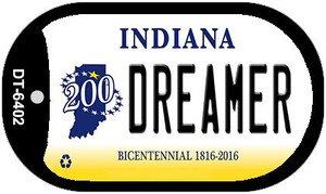 Indiana Dreamer Wholesale Novelty Metal Dog Tag Necklace DT-6402