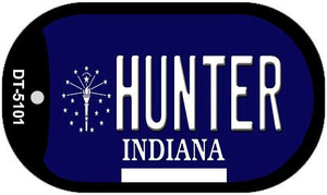 Indiana Hunter Wholesale Novelty Metal Dog Tag Necklace DT-5101