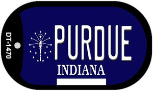 Indiana Purdue Wholesale Novelty Metal Dog Tag Necklace DT-1470