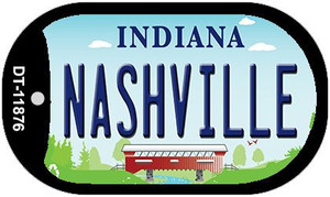 Indiana Nashville Wholesale Novelty Metal Dog Tag Necklace DT-11876
