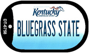 Kentucky Bluegrass State Wholesale Novelty Metal Dog Tag Necklace DT-6758
