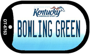 Kentucky Bowling Green Wholesale Novelty Metal Dog Tag Necklace DT-6763