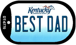 Kentucky Best Dad Wholesale Novelty Metal Dog Tag Necklace DT-6770