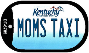 Kentucky Moms Taxi Wholesale Novelty Metal Dog Tag Necklace DT-6785