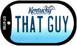 Kentucky That Guy Wholesale Novelty Metal Dog Tag Necklace DT-6790