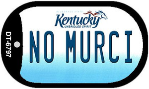 Kentucky No Murci Wholesale Novelty Metal Dog Tag Necklace DT-6797