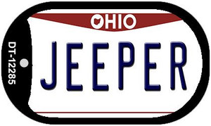 Ohio Jeeper Wholesale Novelty Metal Dog Tag Necklace DT-12285