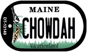 Chowdah Maine Wholesale Novelty Metal Dog Tag Necklace