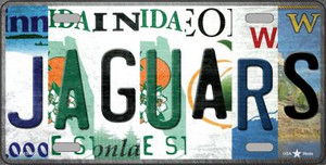 Jaguars Strip Art Wholesale Novelty Metal License Plate Tag LP-13160