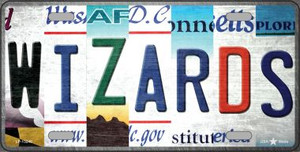Wizards Strip Art Wholesale Novelty Metal License Plate Tag LP-13240