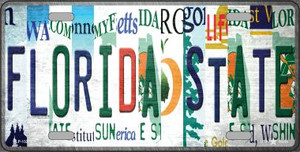 Florida State Strip Art Wholesale Novelty Metal License Plate Tag LP-13277