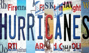 Hurricanes Strip Art Wholesale Novelty Metal Magnet M-13243