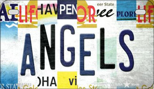 Angels Strip Art Wholesale Novelty Metal Motorcycle Plate MP-13182