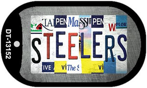 Steelers Strip Art Wholesale Novelty Metal Dog Tag Necklace DT-13152