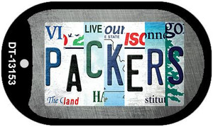 Packers Strip Art Wholesale Novelty Metal Dog Tag Necklace DT-13153