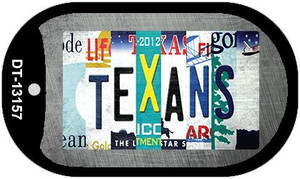 Texans Strip Art Wholesale Novelty Metal Dog Tag Necklace DT-13157