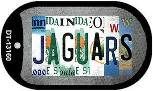 Jaguars Strip Art Wholesale Novelty Metal Dog Tag Necklace DT-13160