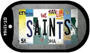 Saints Strip Art Wholesale Novelty Metal Dog Tag Necklace DT-13164