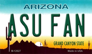 Arizona State Fan Wholesale Novelty Metal Magnet M-12627