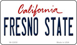 Fresno State Wholesale Novelty Metal Magnet M-12658