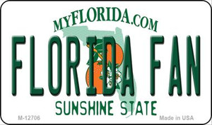 Florida Fan Wholesale Novelty Metal Magnet M-12706