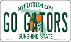 Go Gators Wholesale Novelty Metal Magnet M-12707