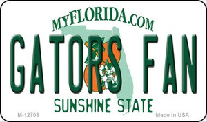 Gators Fan Wholesale Novelty Metal Magnet M-12708