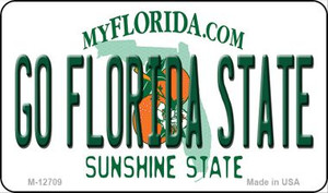 Go Florida State Wholesale Novelty Metal Magnet M-12709