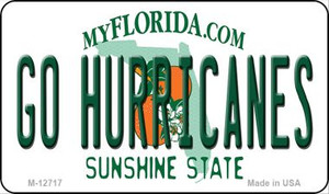 Go Hurricanes Wholesale Novelty Metal Magnet M-12717