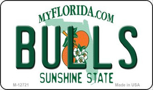Bulls Wholesale Novelty Metal Magnet M-12721