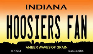 Hoosiers Fan Wholesale Novelty Metal Magnet M-12754