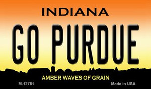 Go Purdue Wholesale Novelty Metal Magnet M-12761