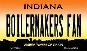 Boilermakers Fan Wholesale Novelty Metal Magnet M-12764
