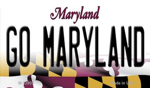 Go Maryland Wholesale Novelty Metal Magnet M-12803