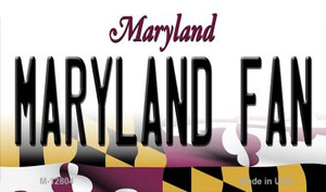 Maryland Fan Wholesale Novelty Metal Magnet M-12804