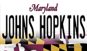 Johns Hopkins Wholesale Novelty Metal Magnet M-12814