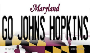 Go Johns Hopkins Wholesale Novelty Metal Magnet M-12815