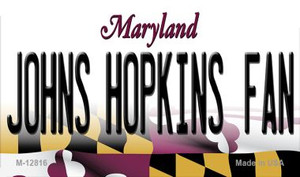 Johns Hopkins Fan Wholesale Novelty Metal Magnet M-12816